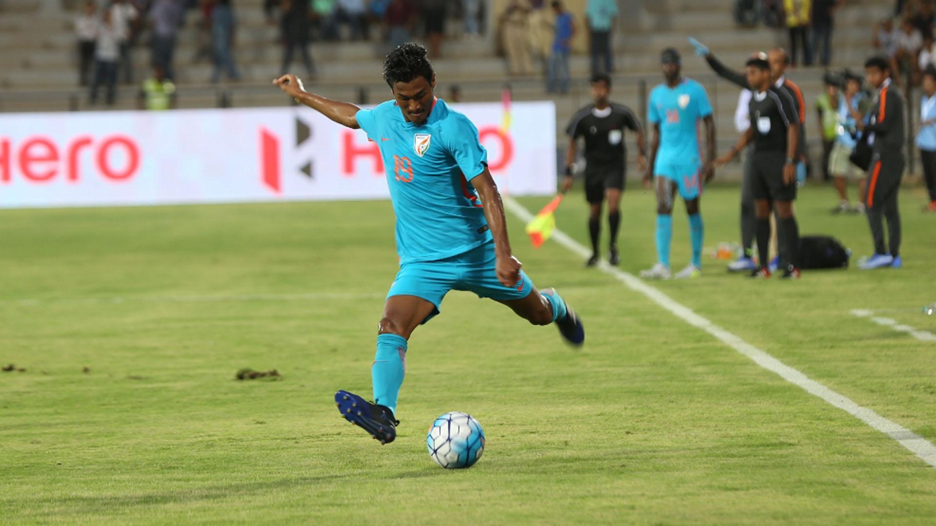 Holicharan Narzary India Nepal International Friendly 2017