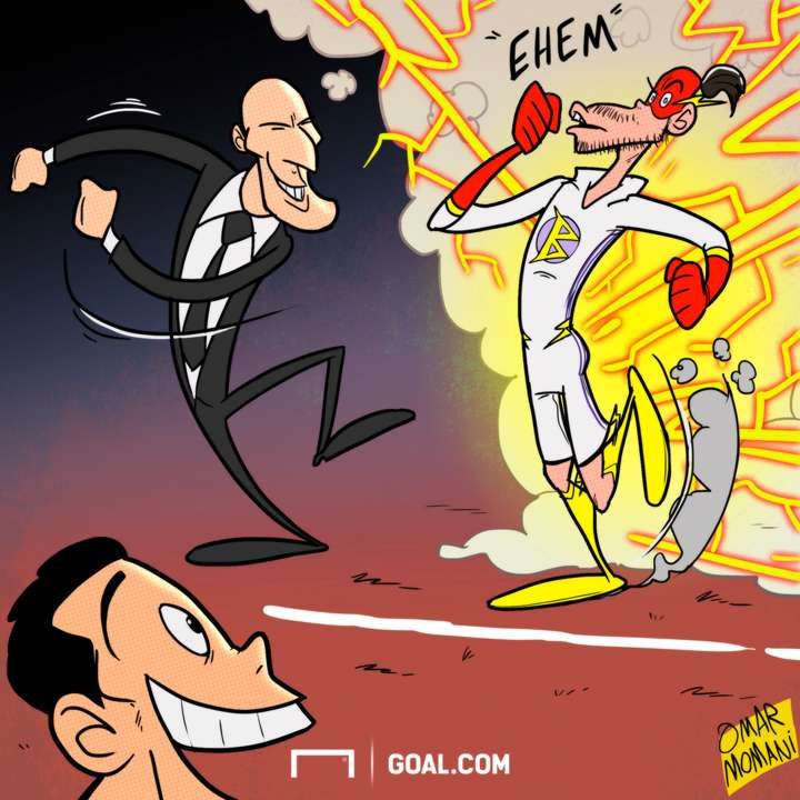 Cartoon Bale's return