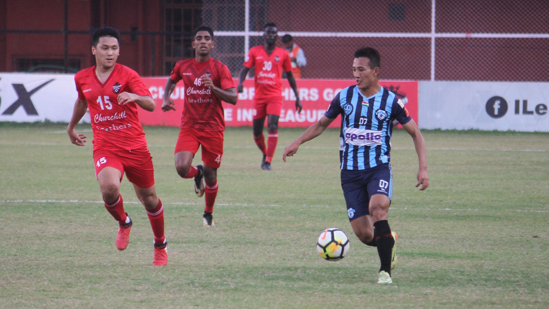 Chencho Gyeltshen Churchill Brothers Minerva Punjab FC I-League 2017/2018
