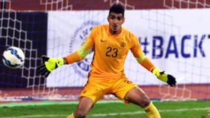 Gurpreet Singh Sandhu Iran India 2018 World Cup Qualification Round