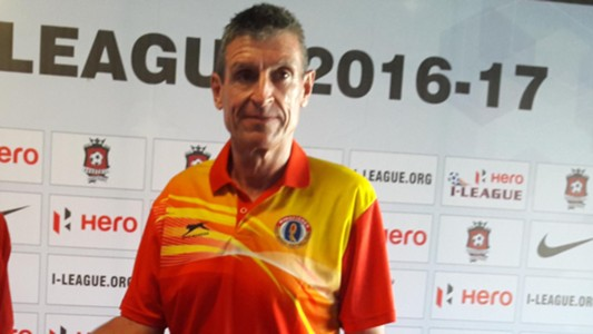 Trevor Morgan Churchill Brothers East Bengal FC I-League 2017