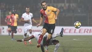 Mahmoud Al Amna East Bengal Shillong Lajong FC I-League 2017/2018