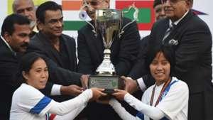 Oinam Bembem Devi Ngangom Bala Devi India Women's Senior National Team SAFF Women's Championship