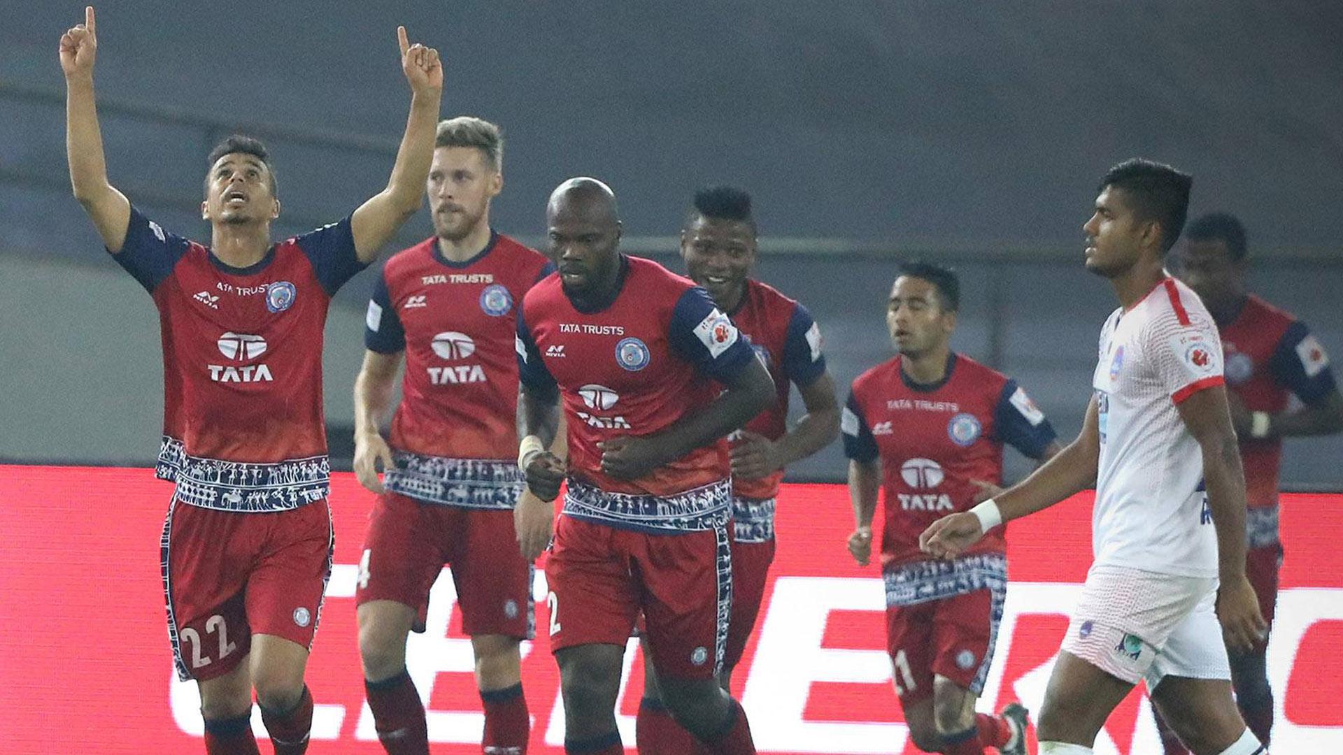 Delhi Dynamos FC Jamshedpur FC ISL season 4 2017/2018