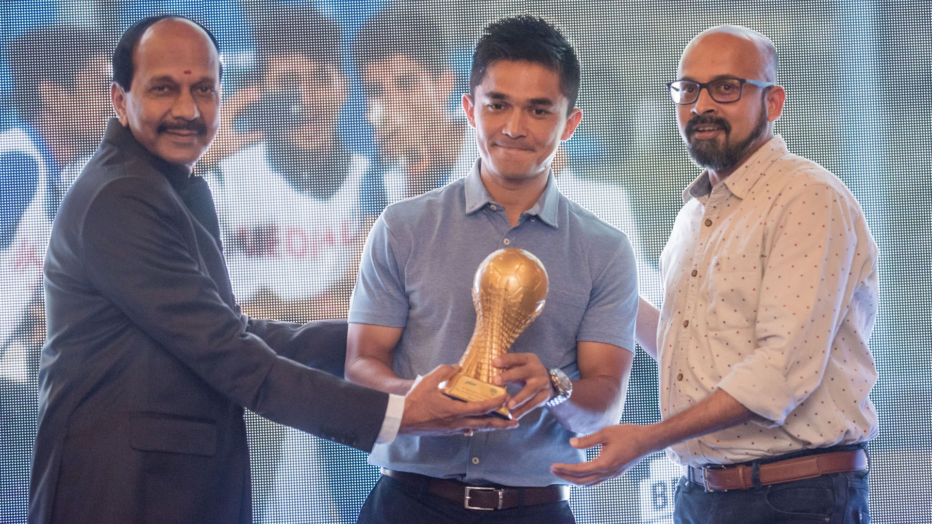 Sunil Chhetri Bengaluru FC Awards Night 2017