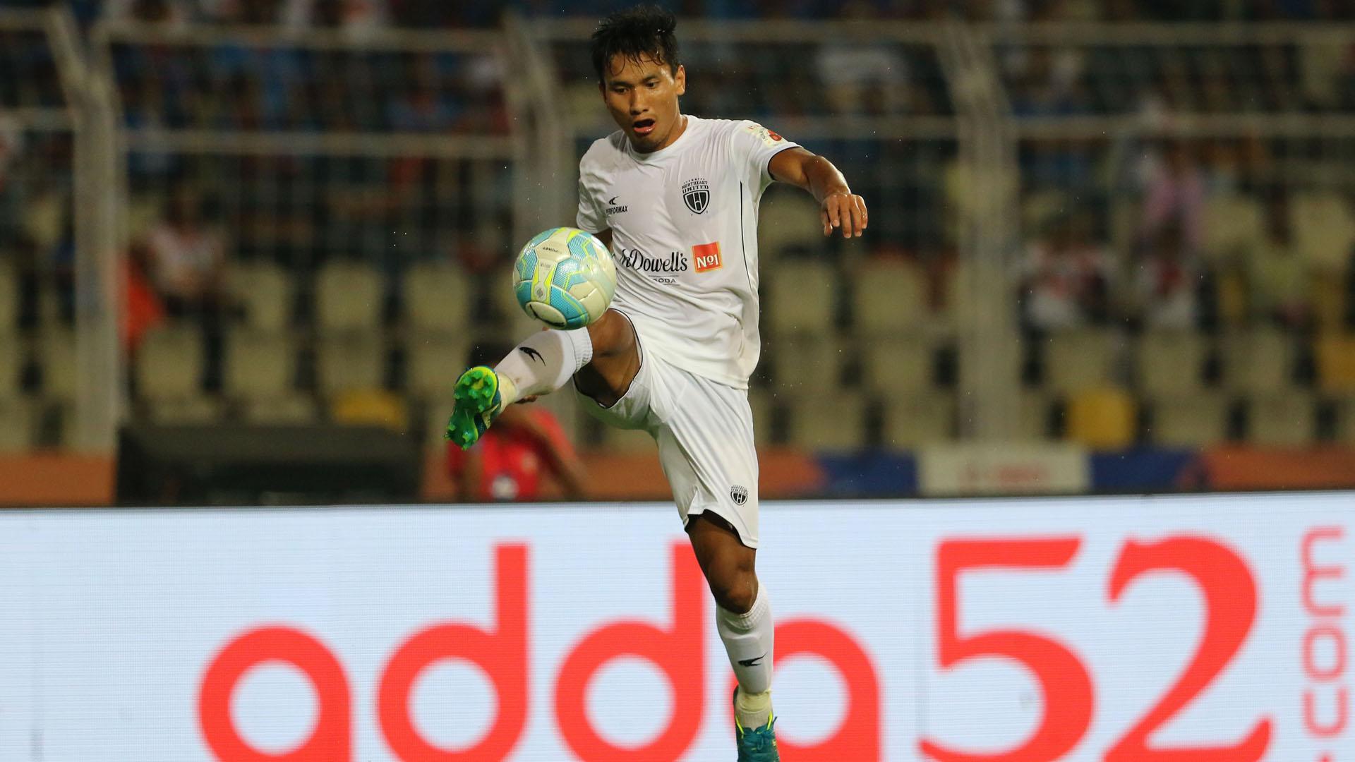 Seiminlen Doungel FC Goa NorthEast United FC ISL 4 2017/2018