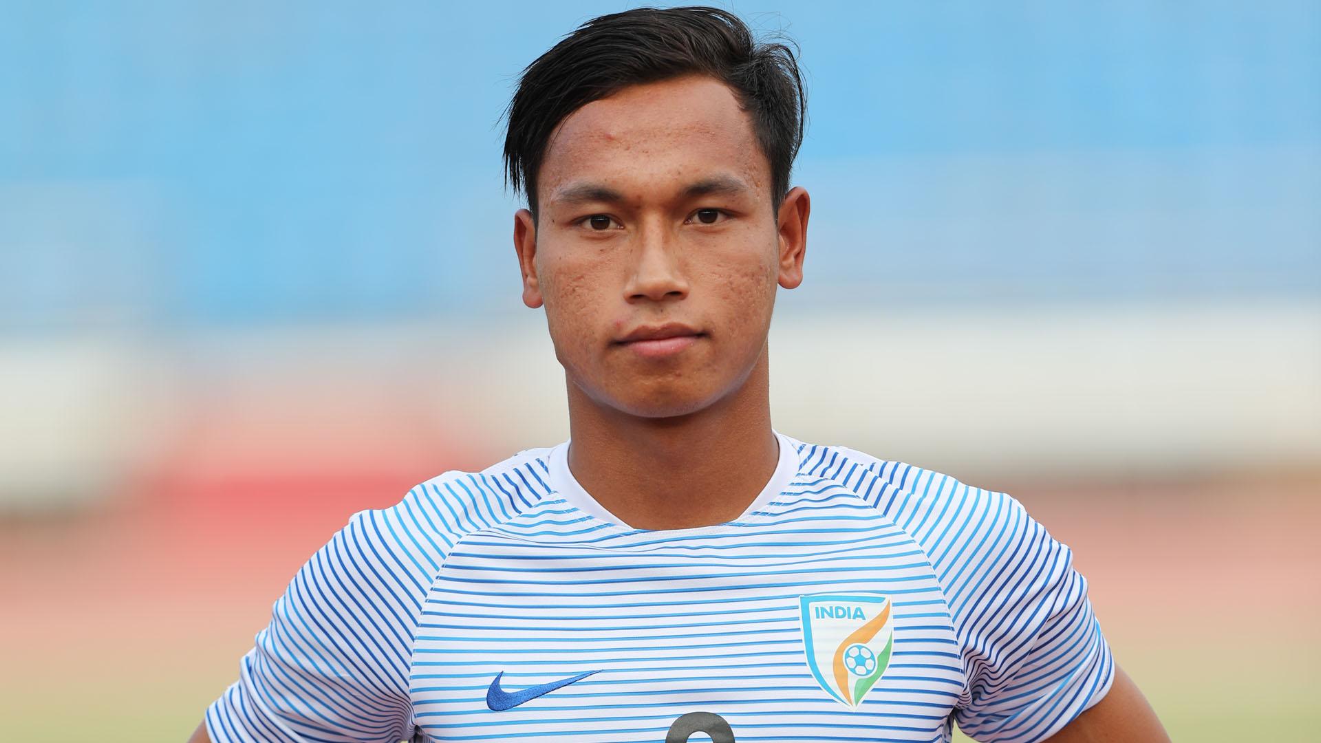 Amarjit Singh Kiyam FIFA U17 World Cup 2017 India U17 training