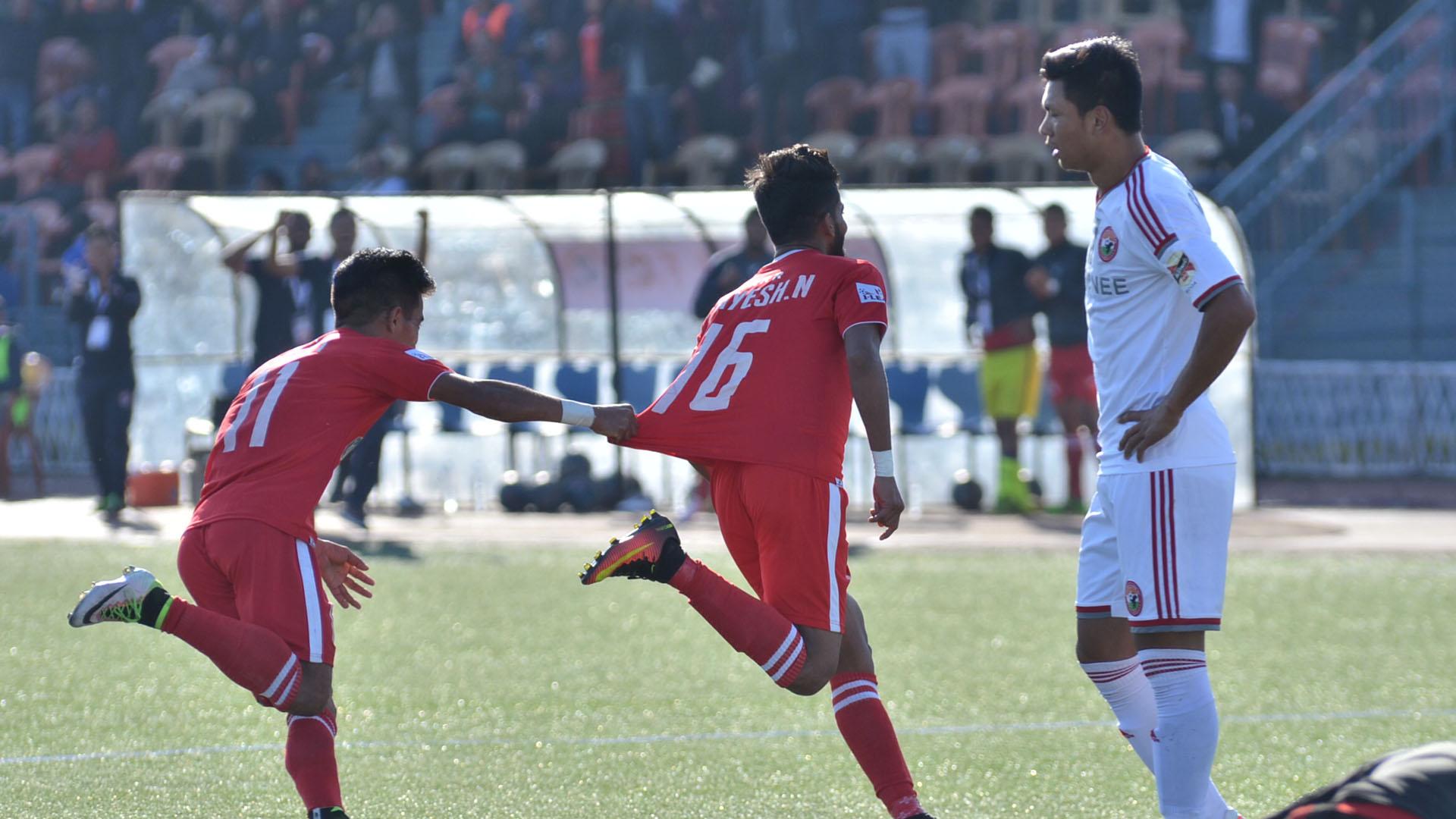 Jayesh Rane Aizawl FC Shillong Lajong FC I-League 2017