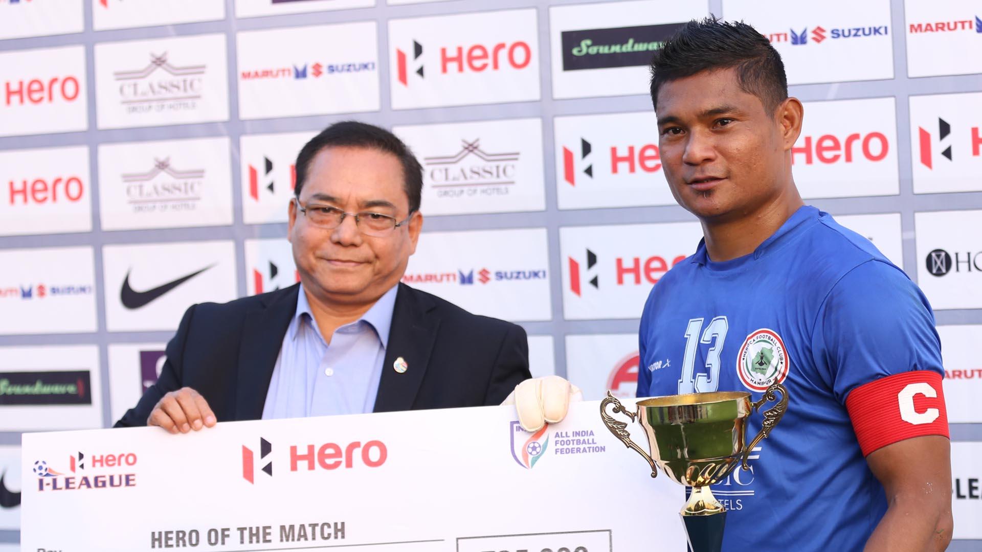 Lalit Thapa NEROCA FC Chennai City FC I-League 2017/2018