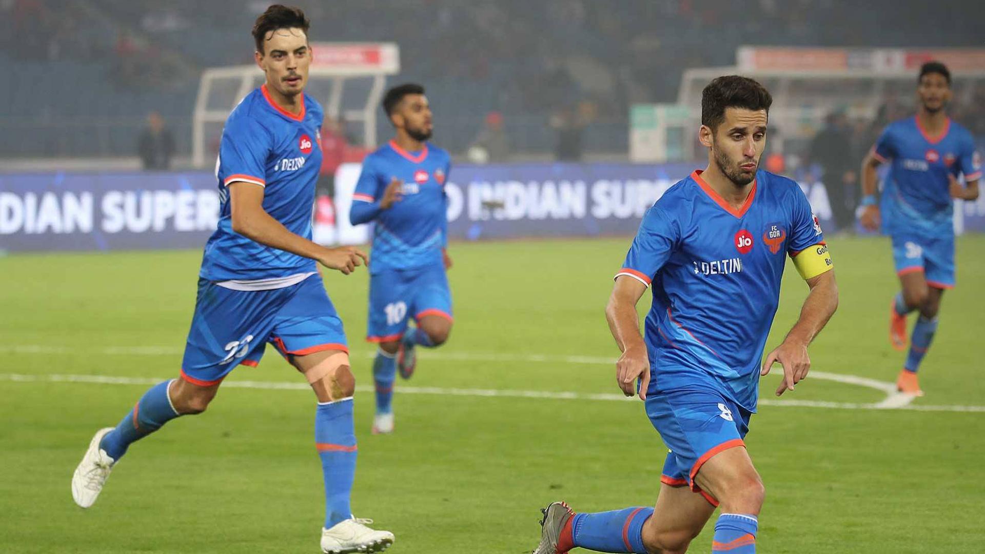 Coro Delhi Dynamos FC FC Goa ISL Season 4 2017/2018