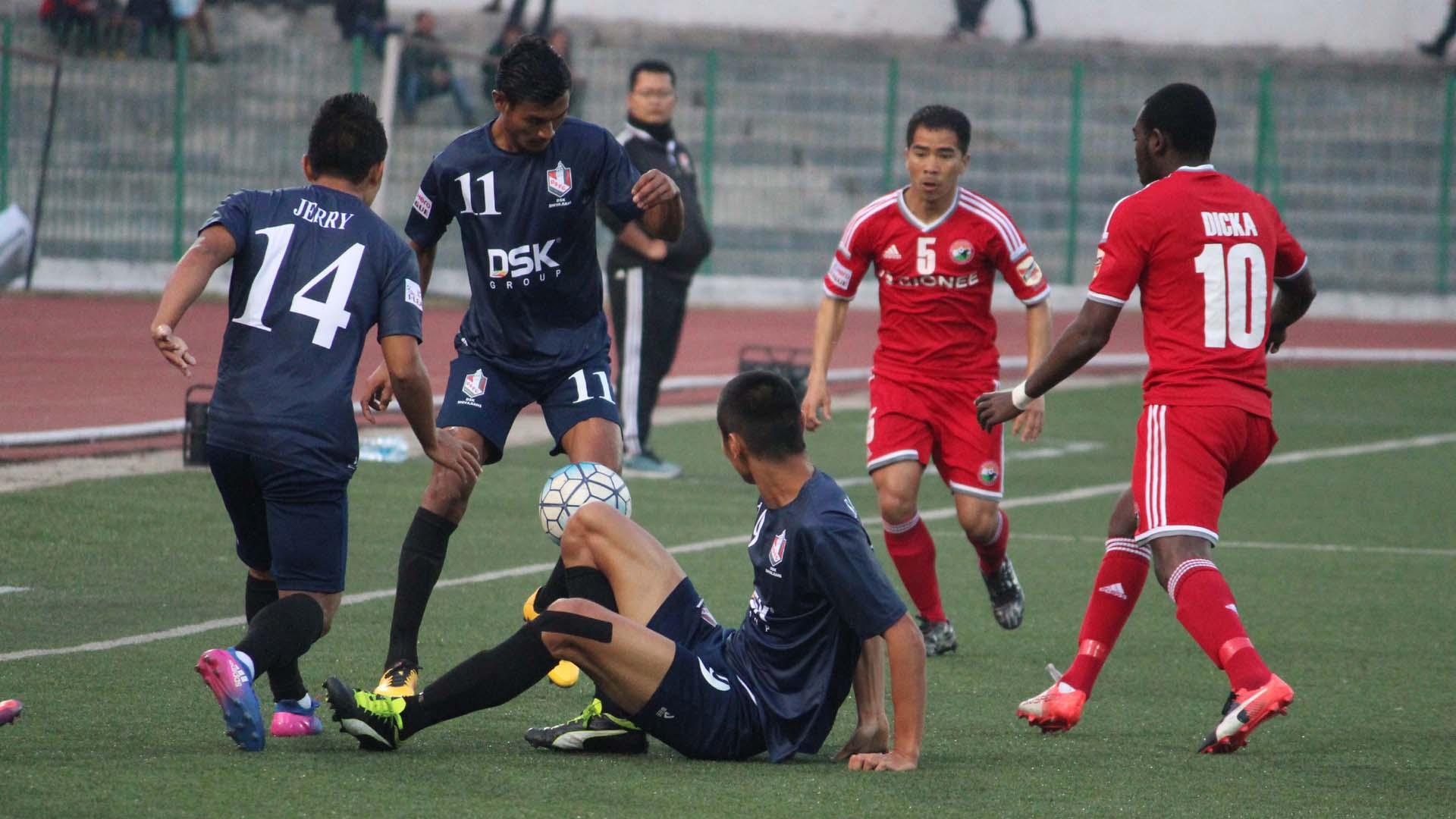 Shillong Lajong FC DSK Shivajians FC I-League 2017