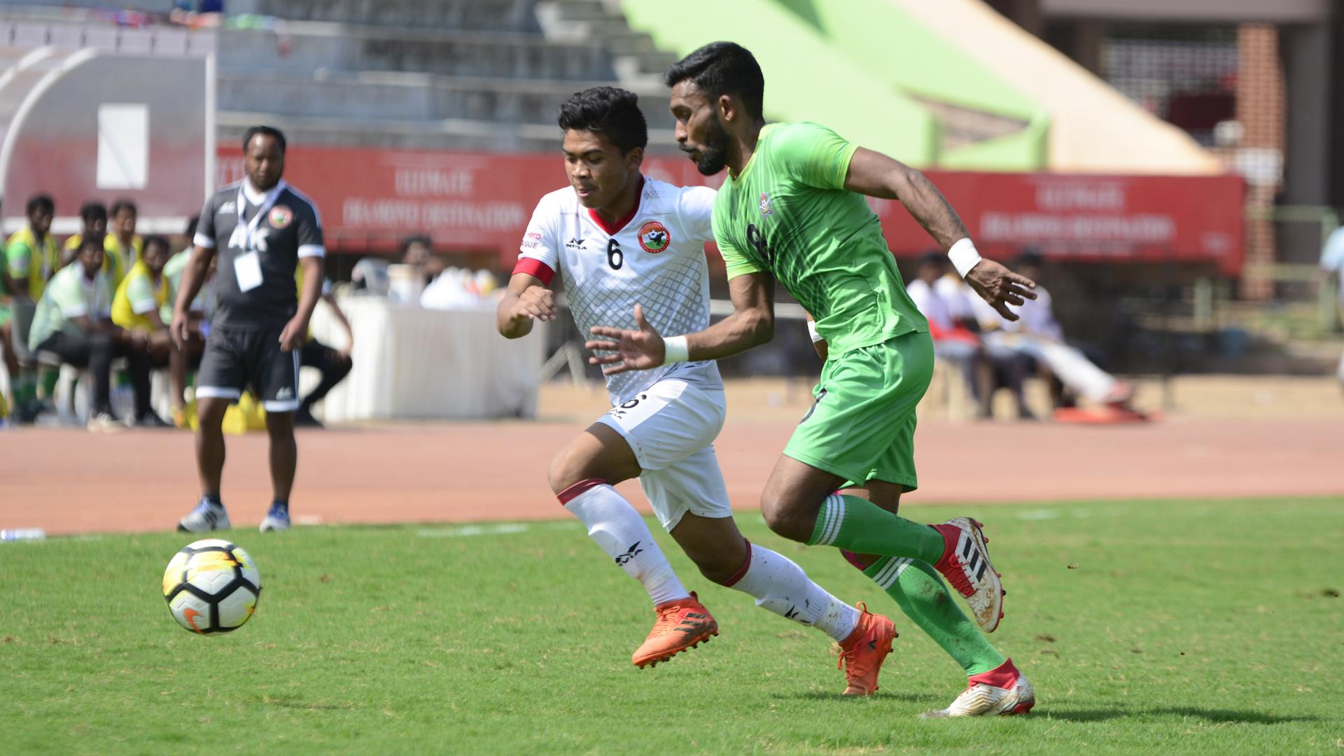 Edwin Vanspaul Chennai City FC Shillong Lajong FC I-League 2017/2018