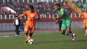 Ningthoujam Pritam Singh NEROCA FC Chennai City FC I-League 2017/2018