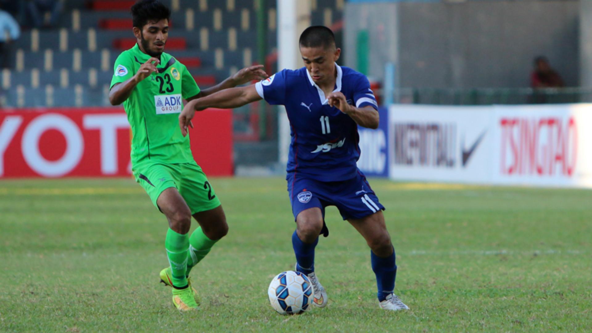 Sunil Chhetri Maziya SR Bengaluru FC AFC Cup 28042015
