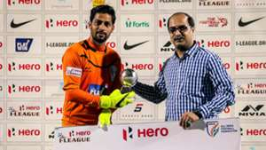 Laxmikant Kattimani Mumbai FC Churchill Brothers SC I-League 2017