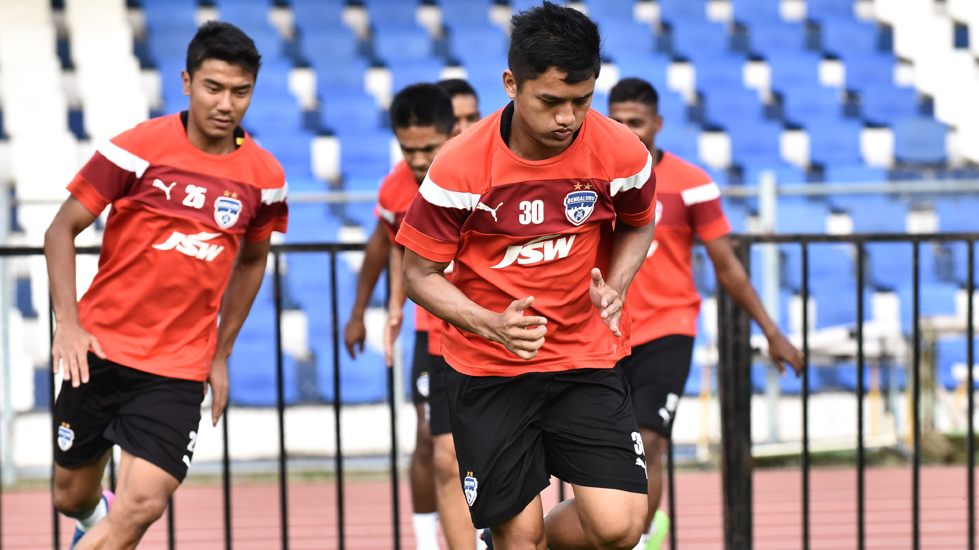 Malsawmzuala Bengaluru FC training session