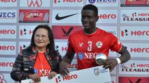 Eze Kingsley Obumneme Aizawl FC Churchill Brothers SC I-League 2017