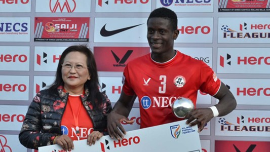 Eze Kingsley Obumneme Aizawl FC Churchill Brothers SC I-League 2017