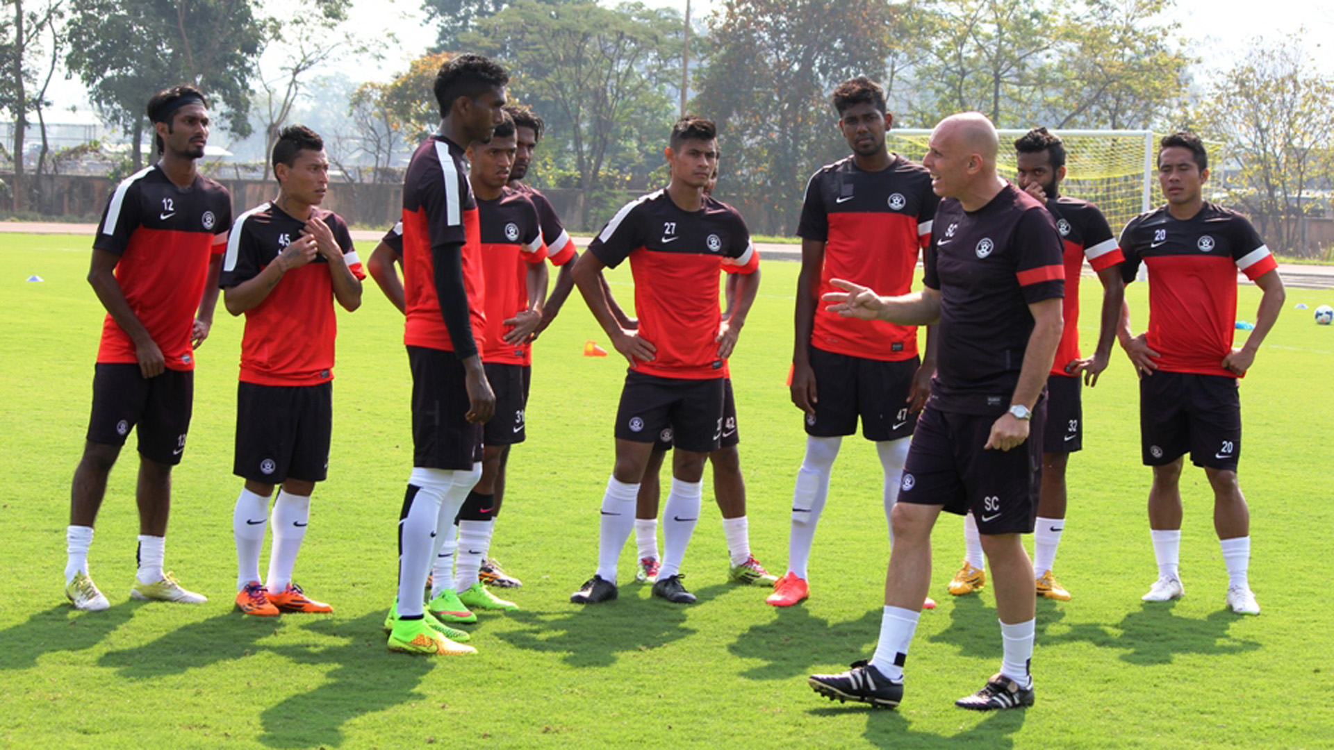 Stephen Constantine Indian national team