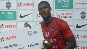 Koffi Mechac Churchill Brothers East Bengal I-League 2017/2018