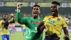 Sandip Nandy Kervens Belfort Kerala Blasters FC Delhi Dynamos FC ISL semi final season 3 2016
