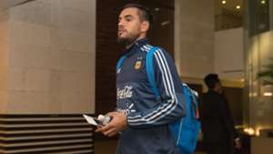 Sergio Romero Argentina Football Team in Singapore