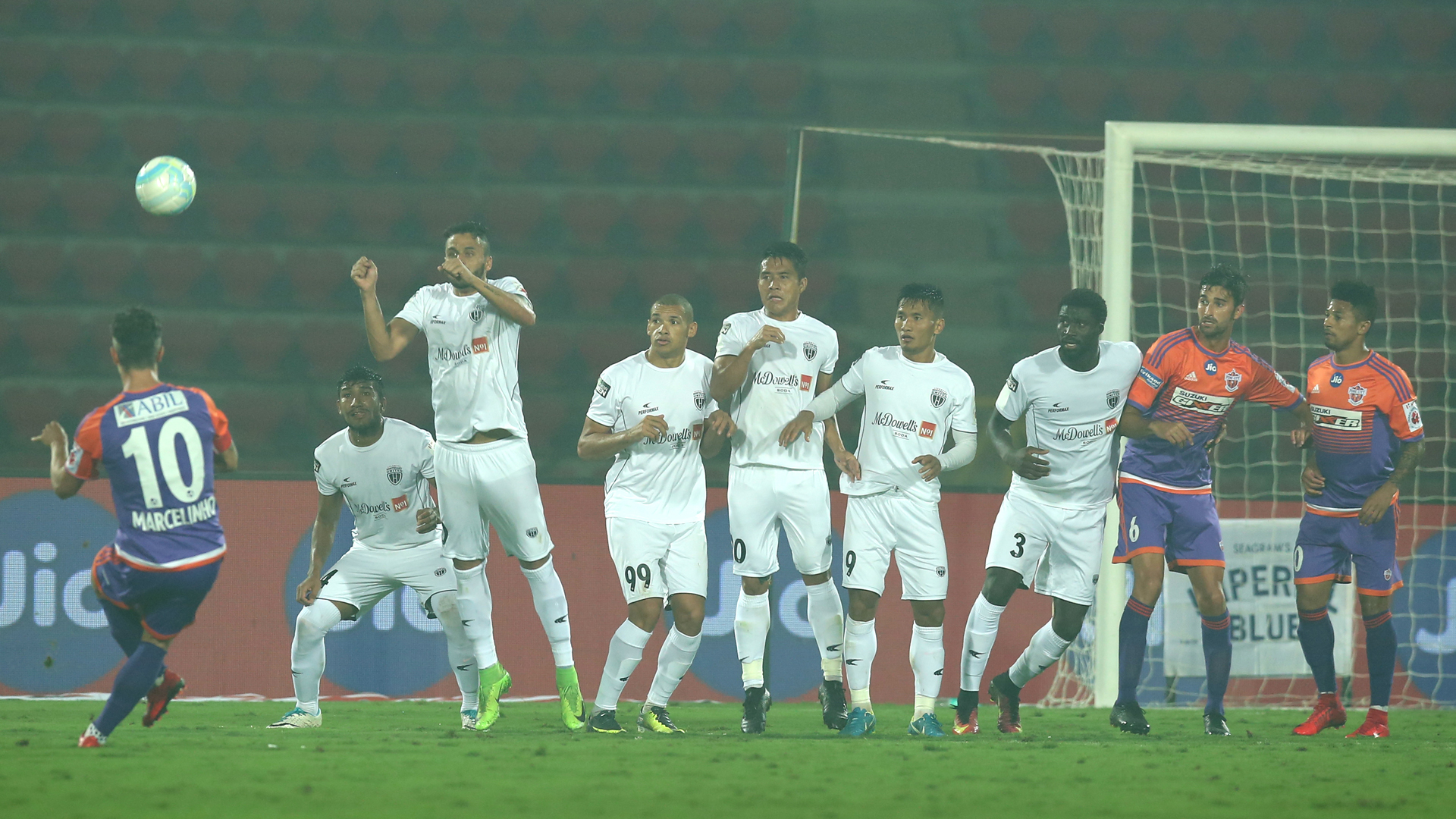 NorthEast United FC FC Pune City ISL 4 2017/2018