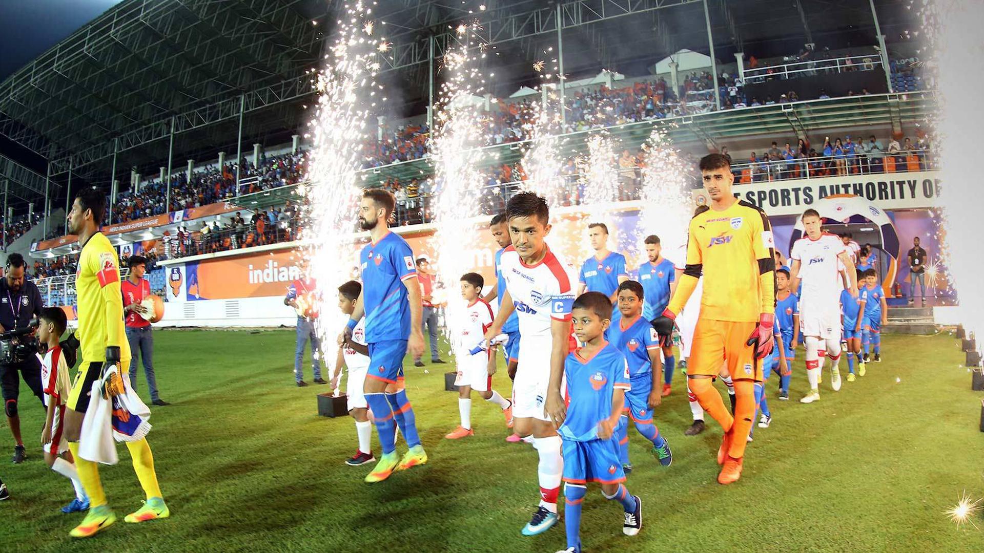 FC Goa Bengaluru FC ISL season 4 2017/2018