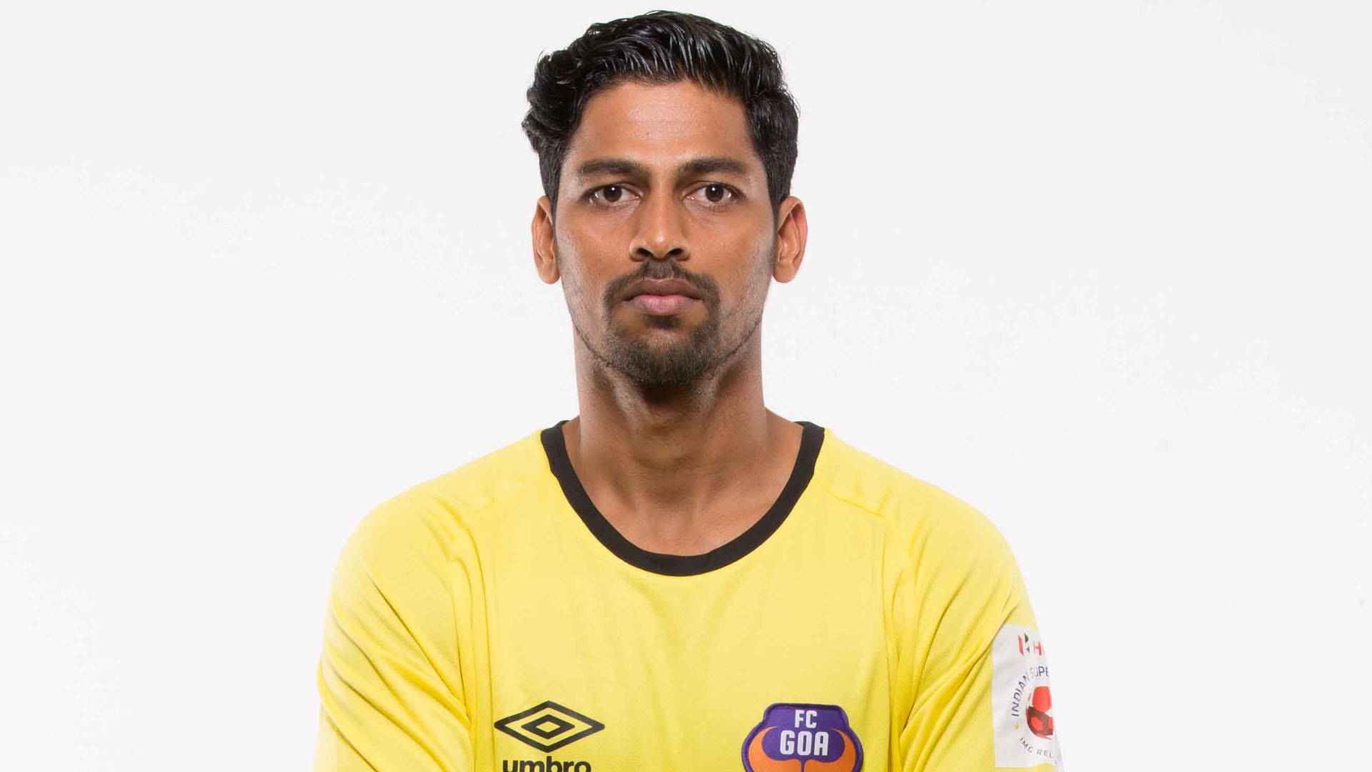 Laxmikanth Kattimani FC Goa ISL