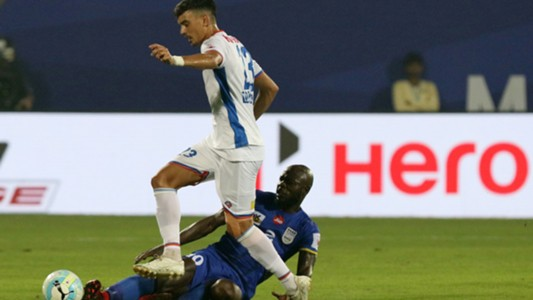 Eduardro Bedia Pelaez Mumbai City FC FC Goa Season 4 ISL 2017/18