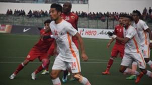 Shillong Lajong FC NEROCA FC I-League 2017/2018