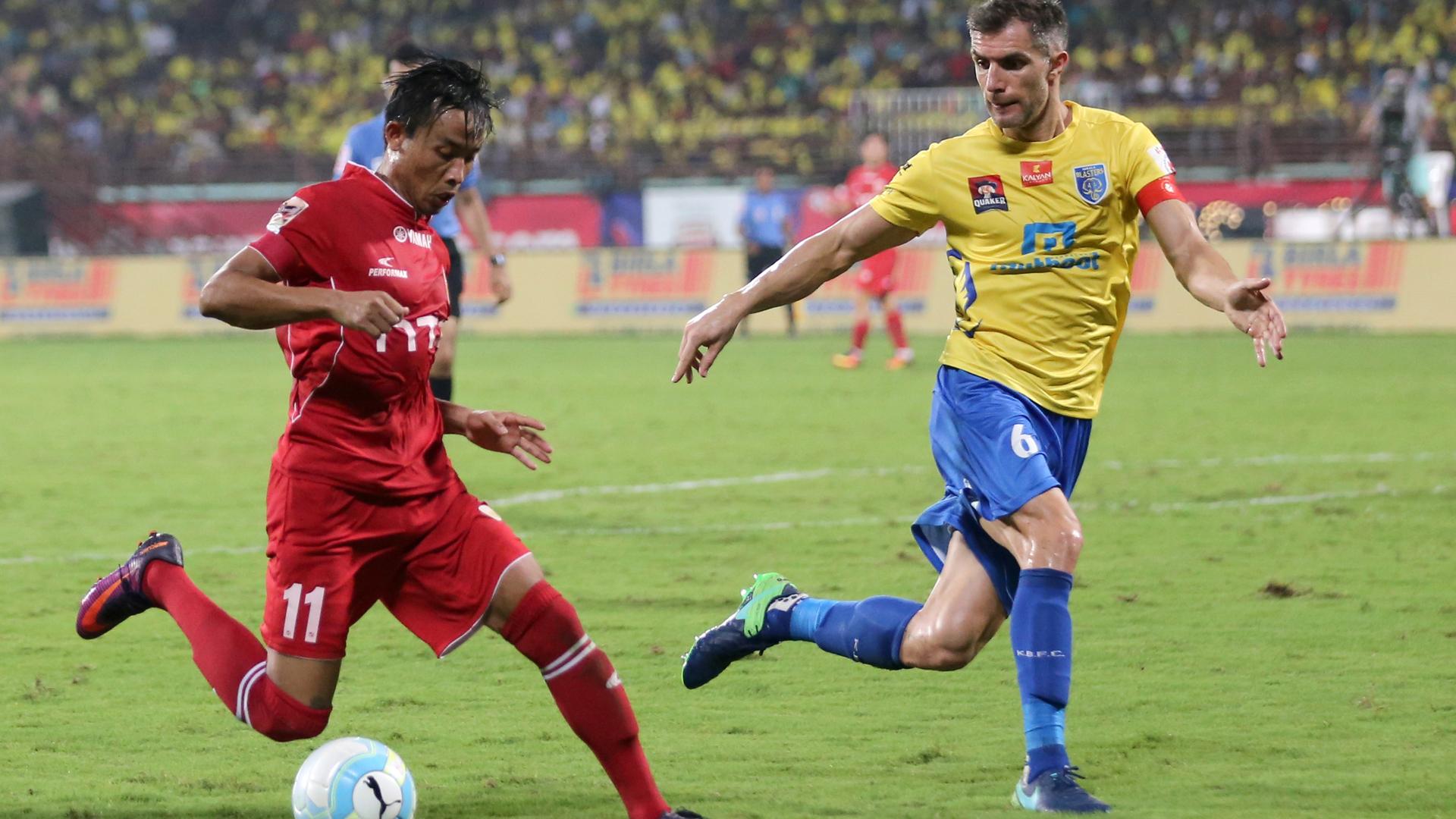Seityasen Singh Kerala Blasters FC NorthEast United FC ISL season 3 2016