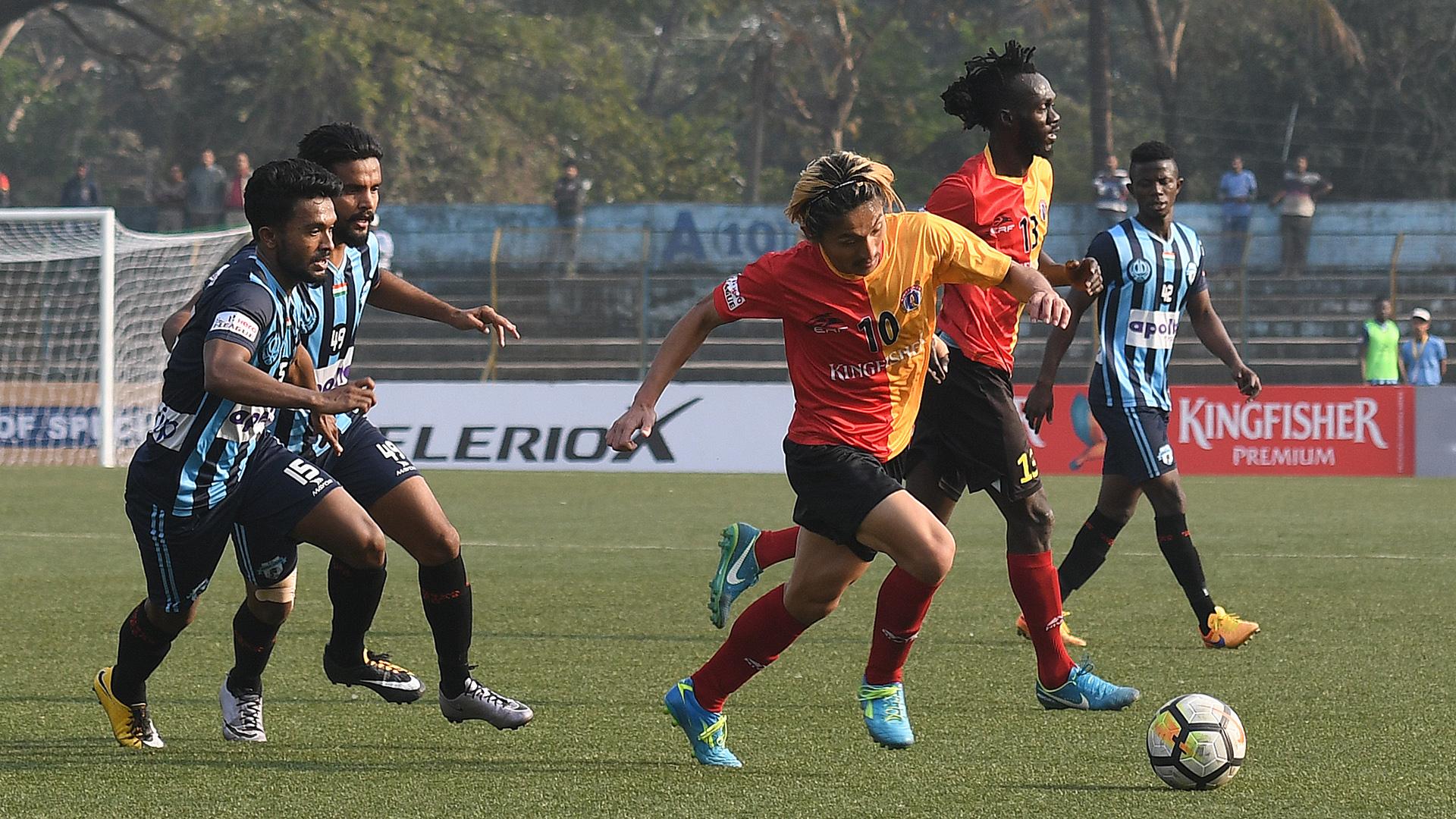 Katsumi Yusa East Bengal Minerva Punjab FC I-League 2017/2018