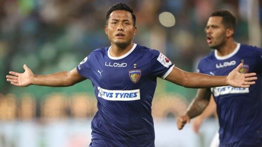 Jeje Lalpekhlua Chennaiyin FC FC Pune City ISL season 3 2016