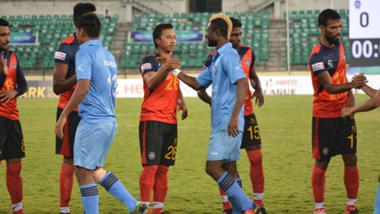 Chennai City FC Churchill Brothers SC I-League 2017