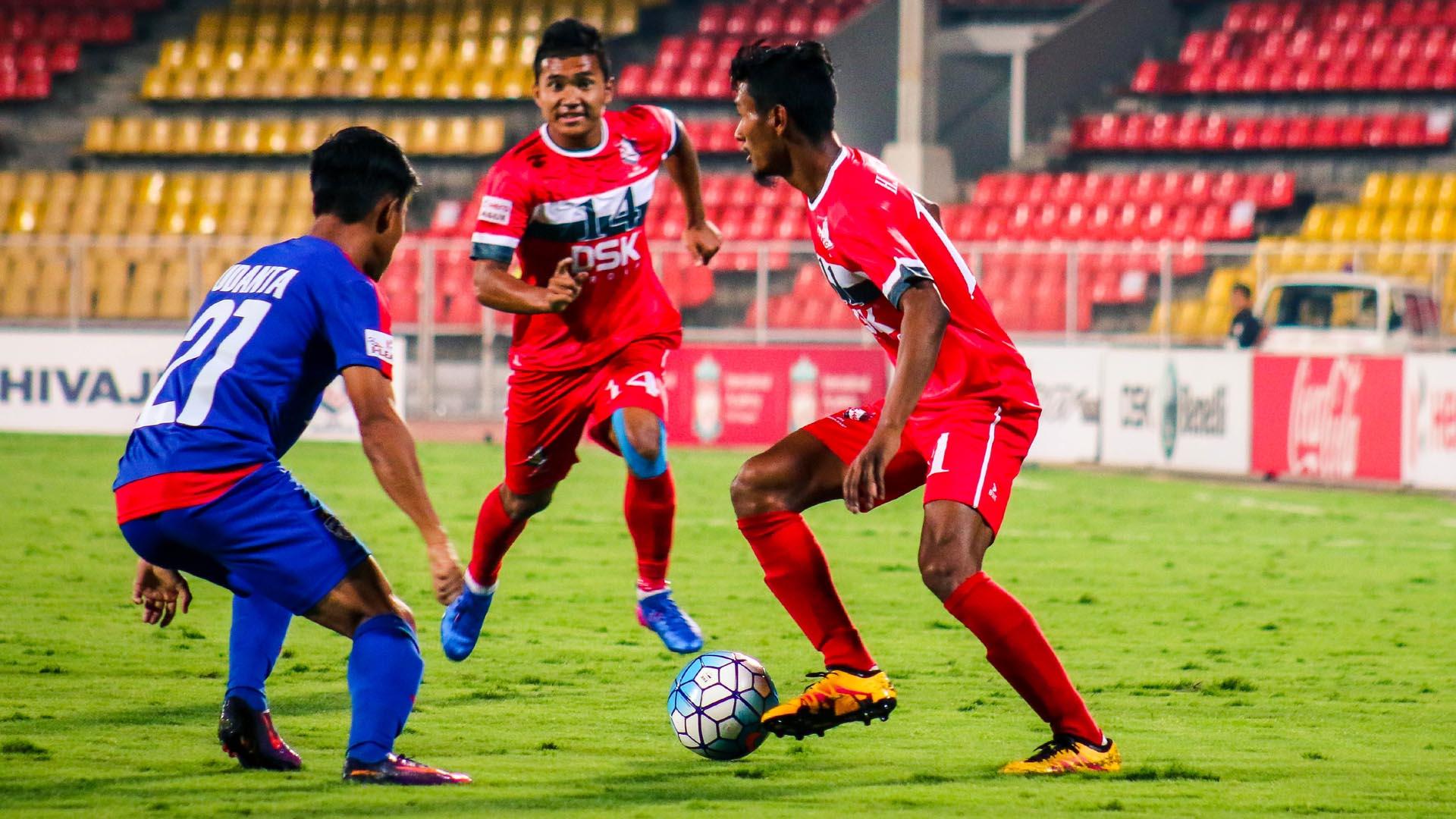 DSK Shivajians FC Bengaluru FC I-League 2017