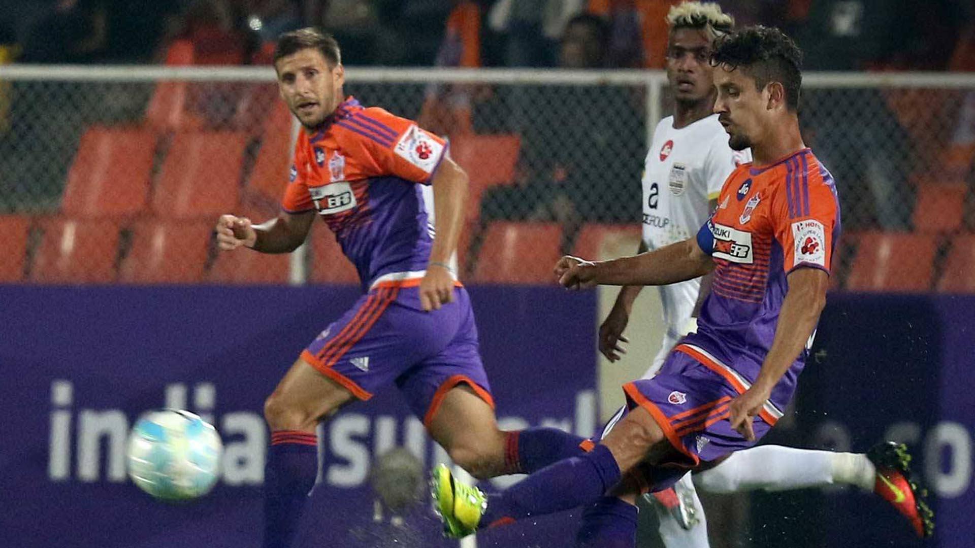 Marcelinho FC Pune City Mumbai City FC ISL season 4 2017/2018