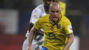 Iain Hume of Kerala Blasters FC during ISL match against Atletico de Kolkata