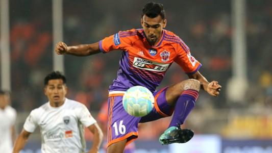 Sarthak Golui FC Pune City NorthEast United FC I-League 2017/2018