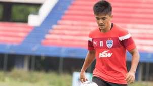 Sunil Chhetri Bengaluru FC training session