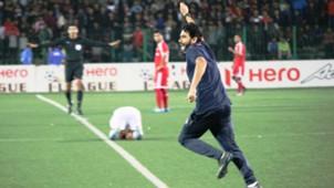 Khalid Jamil Aizawl FC I-League Champions 2017