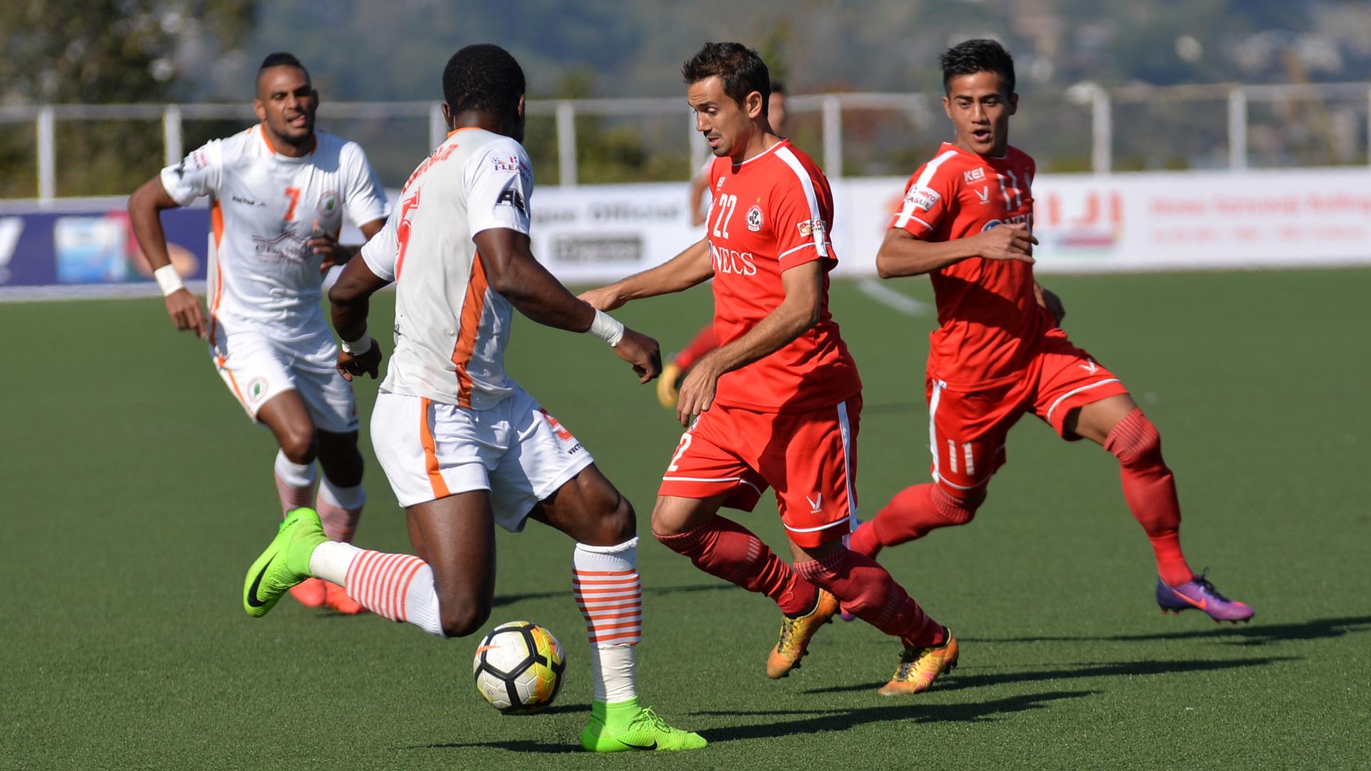 Andrei Ionescu Aizawl FC NEROCA FC I-League 2017/2018