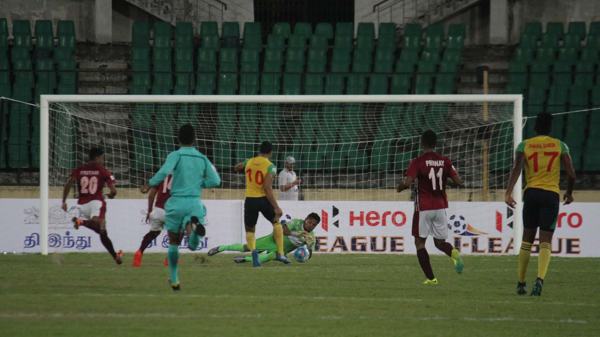 Chennai City Mohun Bagan I-League 2017
