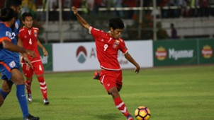 Aung Thu Myanmar India Asian Cup Qualification 2017