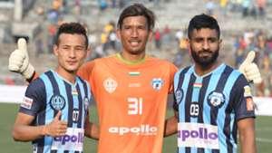 Chencho Gyeltshen Kiran Chemzong Sukhdev Singh Minerva Punjab FC I-League 2017/2018