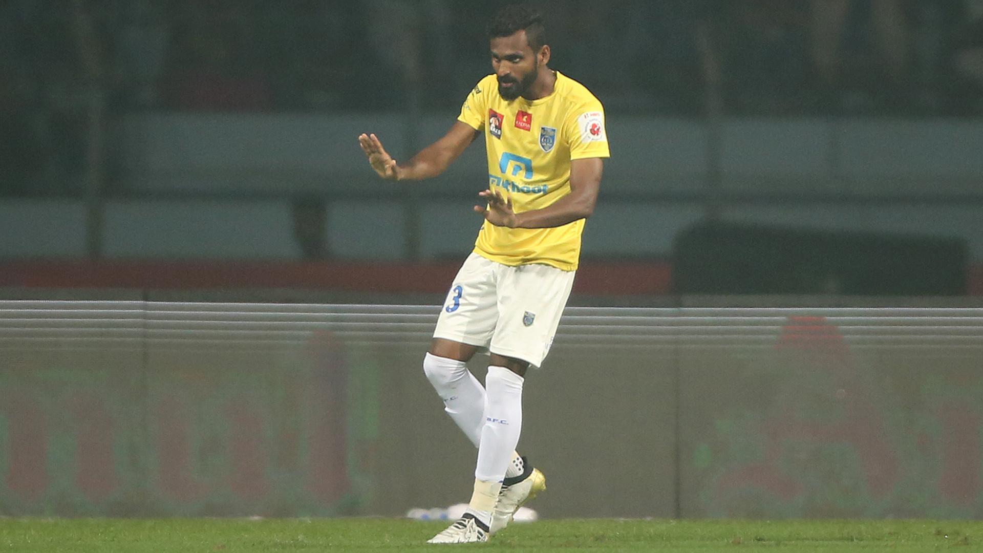 CK Vineeth Atletico de Kolkata Kerala Blasters FC ISL season 3 2016