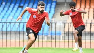 Dimas Delgado Bengaluru FC practice session