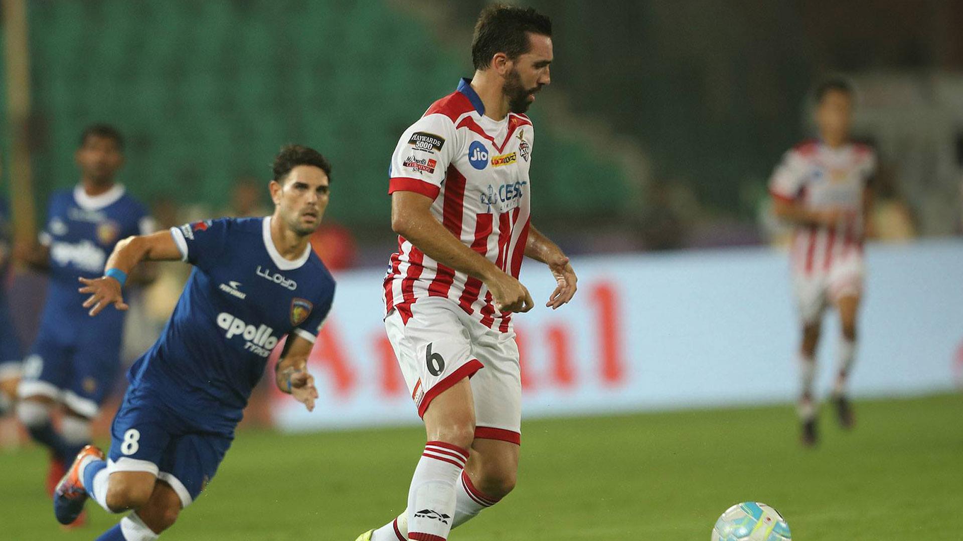 Jordi Figueras Chennaiyin FC ATK ISL season 4 2017/2018