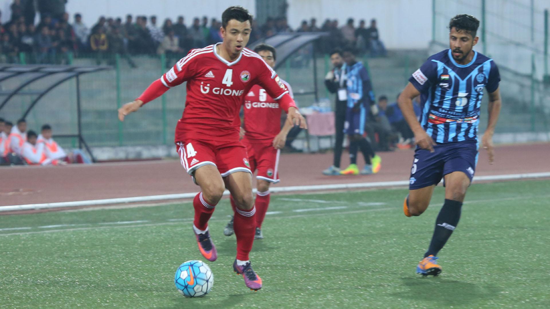 Rupert Nongrum Shillong Lajong FC Minerva Punjab FC I-League 2017