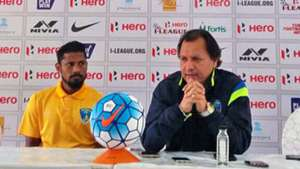 Santosh Kashyap Mumbai FC Aizawl FC I-League 2017